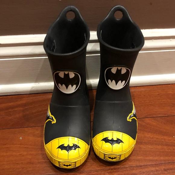 db0126c8d496 CROCS Other - Crocs Batman glow in the dark rain boots